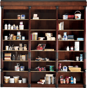 """Empire"" bookcase"